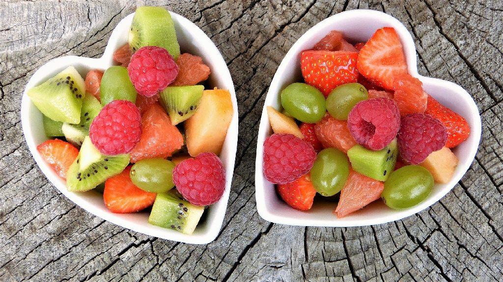 bol de fruits coupé